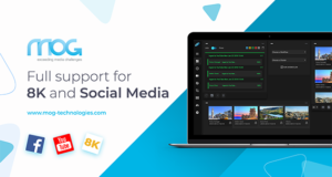 Central Ingest with Support 8K and Social Media