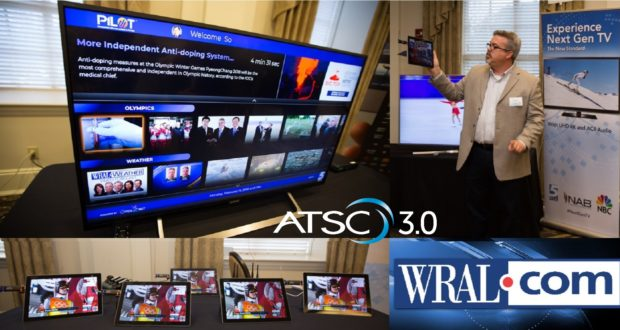 ENENSYS TECH DEPLOYED IN LIVE WRAL-TV, NBC UNIVERAL AND NAB