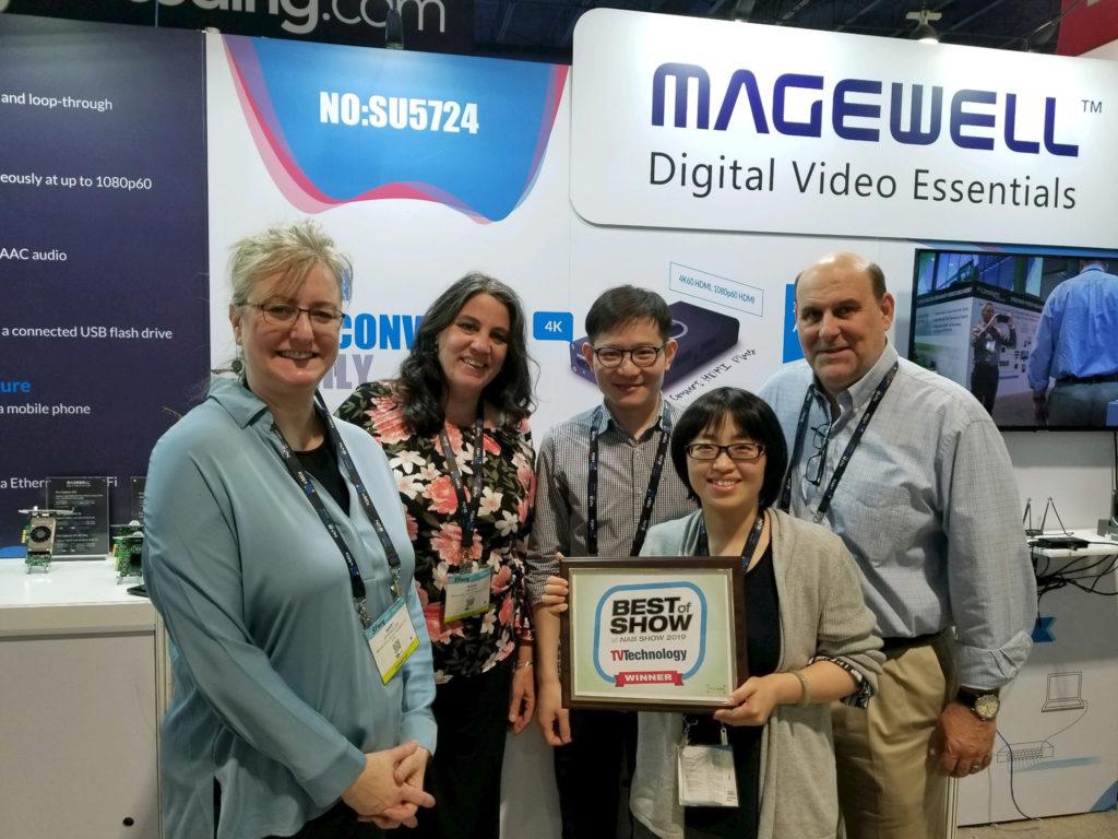 Magewell an Distributeur Mobile Video Devices mat dem Best of Show Award fir de Pro-Convert-Famill