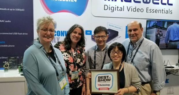 Magewell jeung distributor Mobile Video Alat jeung Best Tembongkeun Award pikeun kulawarga ngarobah Pro