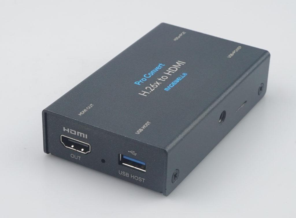 Konvertoni Magewell Pro H.26x në HDMI