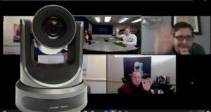 ઝૂમ વિડિઓ કોન્ફરન્સિંગમાં રીમોટ પીટીઝેડ ક Cameraમેરો નિયંત્રણ