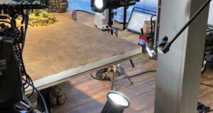 Set i sipërm tryeze me Force 7 LED LEKO & Dritë Kompakt Ndriçuese CRLS C-Reflektues