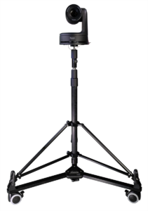 Cartoni's Lightweight PTZ Stand with Dolly