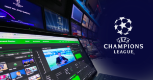 uefa uses tvu networks for the live uefa 2020 21 champions league group stage draw nab show news 2020 nab show media partner and producer of nab show live broadcast engineering news uefa uses tvu networks for the live