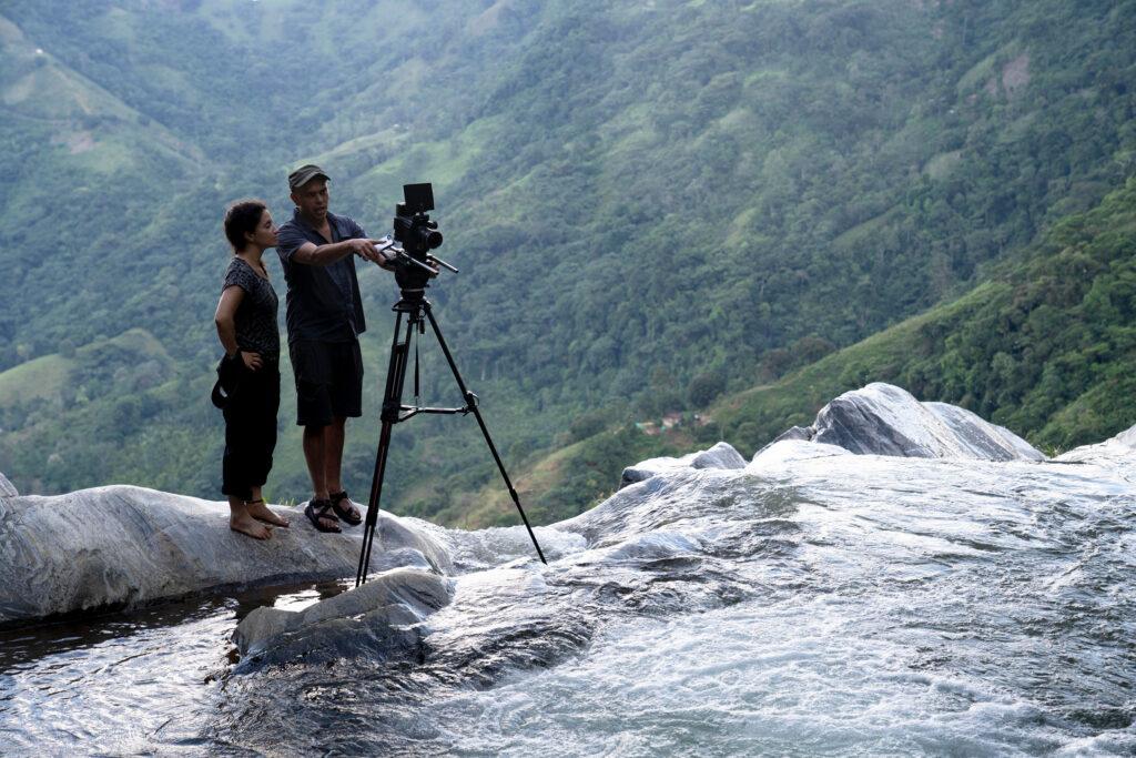 """Cinematographer Pardo on location with """"Vanishing Primates"""""""