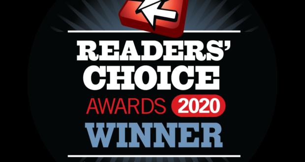 Streaming Media Readers Choice Award Winner