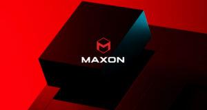 Maxon ûntbleatet nij logo