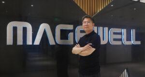 CEO Magewell na CTO Nick Ma